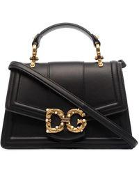 Dolce & Gabbana - Декорированная Сумка-тоут С Логотипом - Lyst