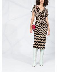 Missoni - ジグザグ ドレス - Lyst