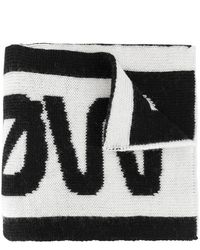 RED Valentino - Intarsia Knit Scarf - Lyst