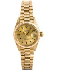 Rolex Oyster Perpetual Datejust Horloge - Metallic