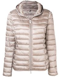 Save The Duck - Hooded Quilted Jacket - Lyst