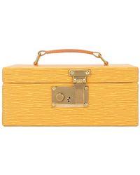 Louis Vuitton Pre-owned Boite A Tout Jewellery Box - Yellow