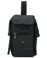 McQ マルチポケット バックパック - ブラック