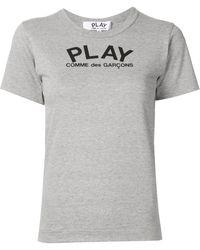 COMME DES GARÇONS PLAY - リラックスフィット Tシャツ - Lyst