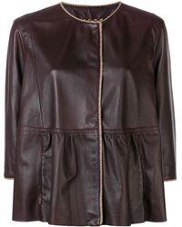 Etro Куртка Оверсайз - Многоцветный