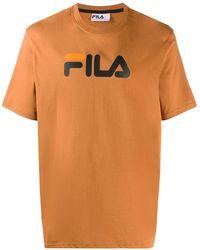 Fila ロゴ Tシャツ - ブラウン