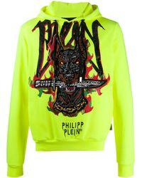Philipp Plein - Embroidered Dog Hoodie - Lyst