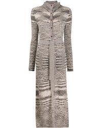 Missoni Кардиган-пальто С Абстрактным Принтом - Многоцветный