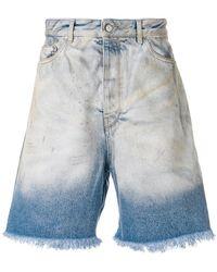 Golden Goose Deluxe Brand - Classic Denim Shorts - Lyst