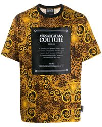 Versace Jeans - プリント Tシャツ - Lyst