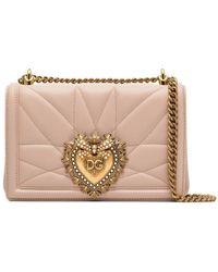Dolce & Gabbana Devotion ショルダーバッグ - ピンク
