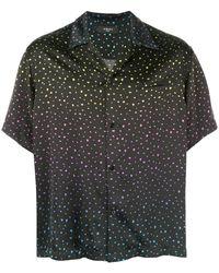 Amiri - Dotted Button Down Shirt - Lyst