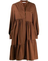 Dorothee Schumacher ティアードドレス - ブラウン