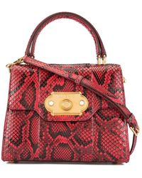 Dolce & Gabbana Bolso Welcome mini - Rojo