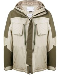 White Mountaineering Куртка На Молнии - Многоцветный