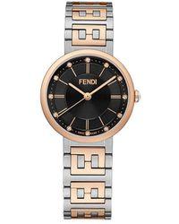 Fendi フォーエバーフェンディ 腕時計 - マルチカラー