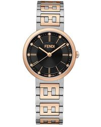 Fendi Наручные Часы Forever - Многоцветный