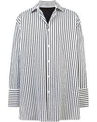 BMUET(TE) - Back Cut-out Shirt - Lyst