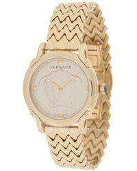 Versace セーフティピン 腕時計 34mm - メタリック