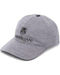 Corneliani ロゴ キャップ - グレー