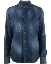 DSquared² デニムシャツ - ブルー