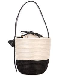 Cesta Collective Two-tone Bucket Bag - Black