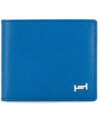 Tod's 二つ折り財布 - ブルー