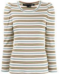 Veronica Beard Britney Tシャツ - ホワイト