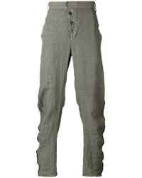 Lost and Found Rooms - Diagonal Fly Pants - Lyst