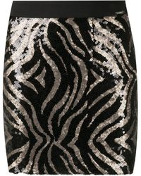 Liu Jo スパンコール スカート - ブラック