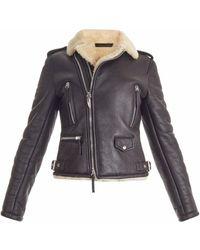 Giuseppe Zanotti Ird9008002 Black Furs & Skins->bovine Leather (top Grain) - ブラック