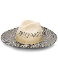 Borsalino - Striped Sun Hat - Lyst