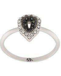 Karl Lagerfeld K/angualer Ring - Metallic