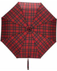 Mackintosh Складной Зонт Ayr С Телескопической Ручкой - Красный