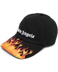 Palm Angels Кепка С Вышивкой И Логотипом - Черный