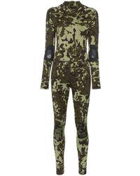 Nike - X Mmw Camouflage Print Bodysuit - Lyst