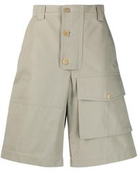 Jacquemus Laurier Cargo Shorts - Green