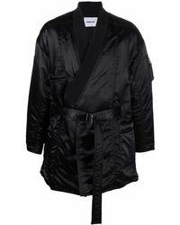Ambush Kimono Ma-1 Hybrid Coat Black No Color - ブラック