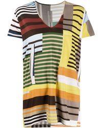 Rick Owens - カラーブロック Tシャツ - Lyst