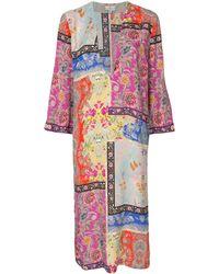 Etro - パッチワークプリント ドレス - Lyst