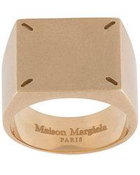 Maison Margiela Ring Met Stiksels - Meerkleurig