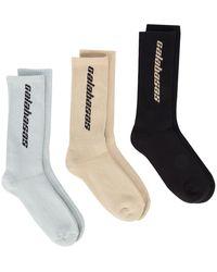 Yeezy 'Calabasas' Socken-Set - Schwarz