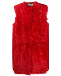 P.A.R.O.S.H. Gilet Mosto - Rouge