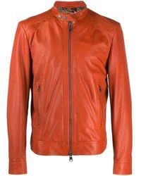 Etro Куртка С Плетеными Вставками - Оранжевый