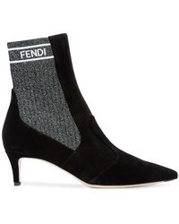 Fendi - Sock Ankle Boots - Lyst