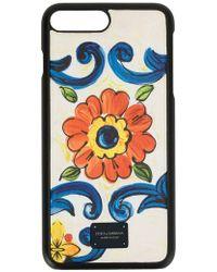 Dolce & Gabbana Iphone 7/8 Plus ケース - ホワイト