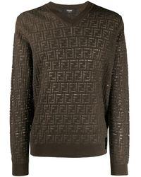 Fendi - Ff ロゴ セーター - Lyst