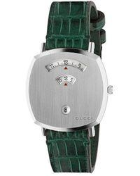 Gucci Reloj Grip de 35mm - Verde