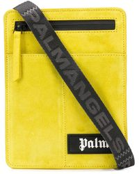 Palm Angels ロゴ メッセンジャーバッグ - イエロー