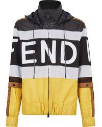 Fendi Куртка С Логотипом - Черный